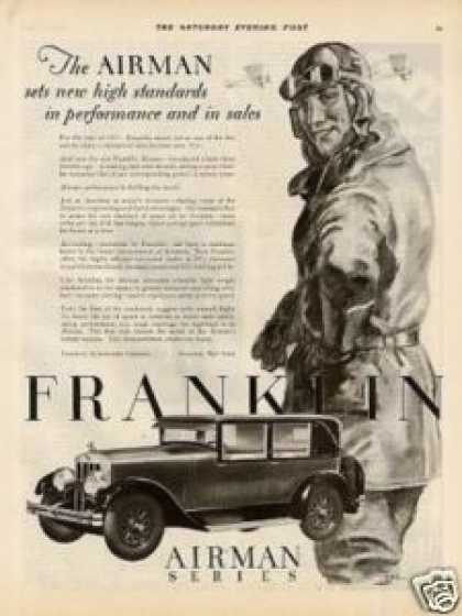 Franklin Airman Series Car (1928)