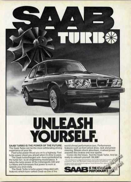 "Saab Turbo ""Unleash Yourself"" Collectible Car (1978)"