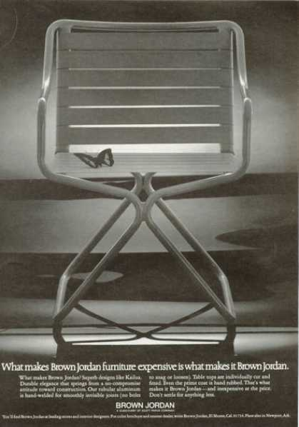 Brown Jordan Funiture Chair (1972)