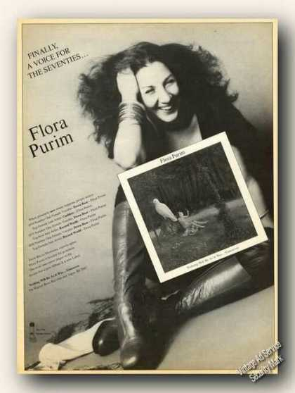 Flora Purim Photo Collectible Album Promo (1977)