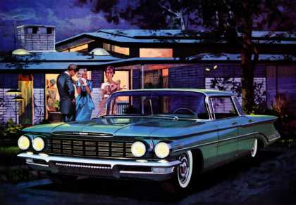 Oldsmobile Super 88 Holiday Sportsedan (1960)