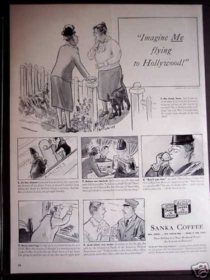 Sanka Coffee 97% Caffein-free Beverage (1939)