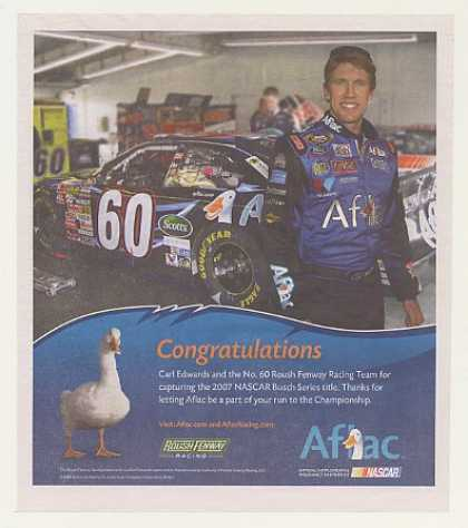 '07 NASCAR Busch Series Carl Edwards Aflac Insurance (2007)
