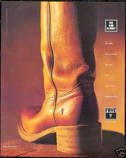 Frye Big Clunky Boot Vintage (1995)