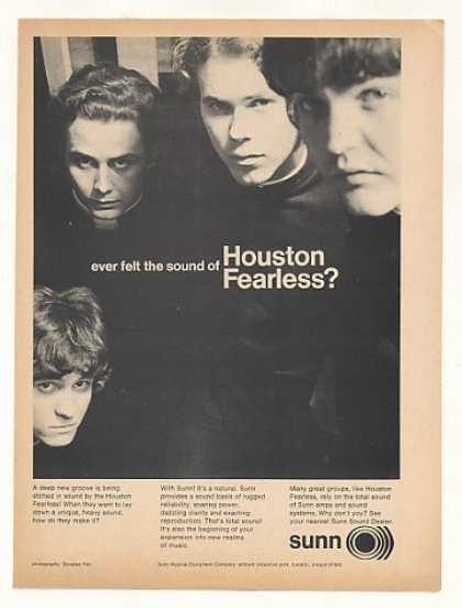 Houston Fearless Group Sunn Amps Photo (1968)