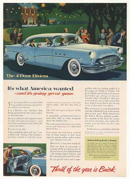 Buick Riviera 4-Door What America Wanted (1955)