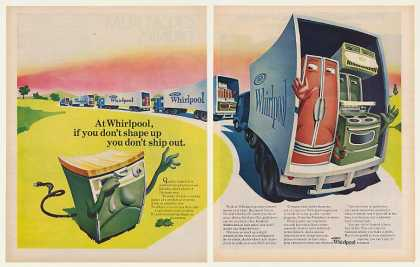 Whirlpool Appliances Shape Up Ship Out (1969)