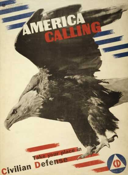 America Calling, Take Your Place in Civilian Defense (1941)