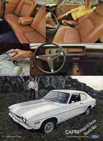 Mercury Capri Sport Coupe Photos Car (1972)