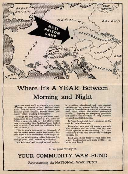 Community War Fund's National War Fund – Where It's A Year Between Morning and Night (1944)