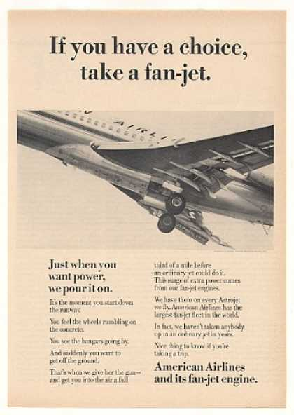American Airlines Astrojet Fan-Jet Aircraft (1964)