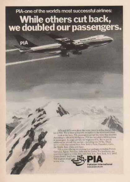 PIA Pakistan International Airlines – Worlds Most Successful Airlines (1977)