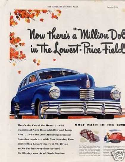 Nash Car Ad 2 Page (1942)