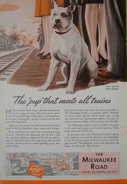 Milwaukee Railroad AND Forstner Chain Corp Jewelry (1941)