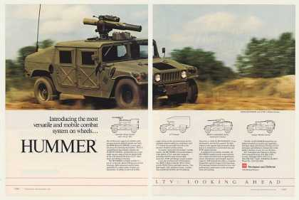 LTV AM General Hummer Military Vehicle (1985)