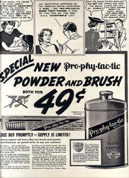 Pro-phy-lac-tic's Powder and Brush (1937)
