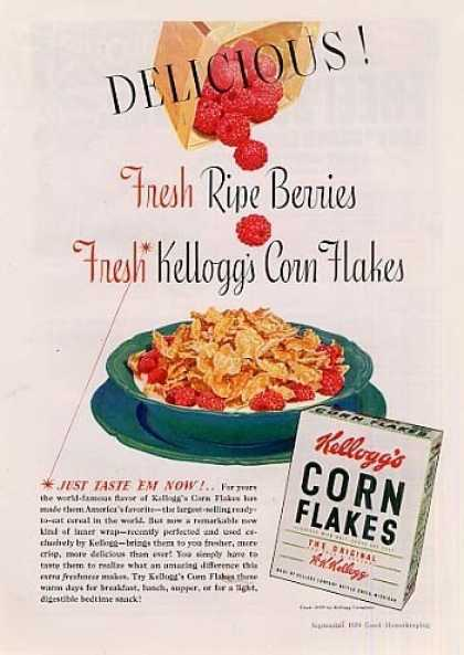 Kellogg's Corn Flakes Cereal (1939)