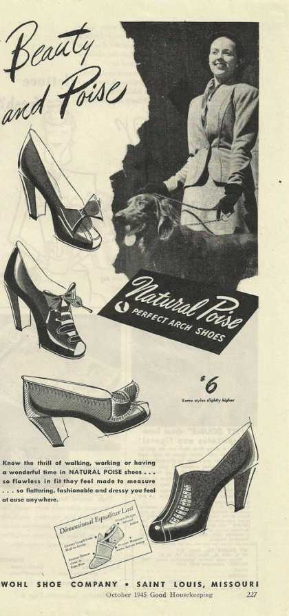 Natural Poise Womens Dress Shoes (1945)