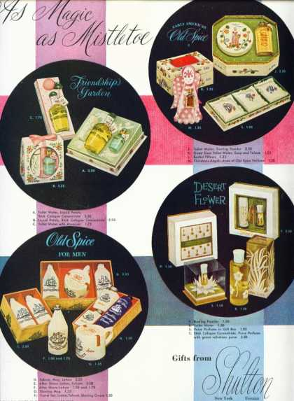 Shulton Gift Packages Old Spice Desert Flower (1952)