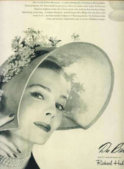 Du Barry Sophisti Creme Makeup C (1950)