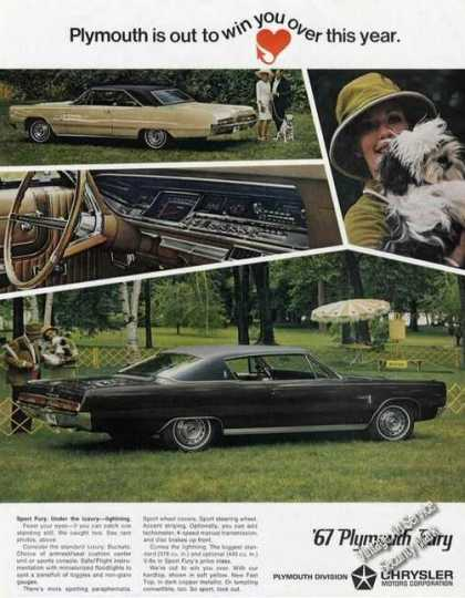 Plymouth Sport Fury Large Color (1967)
