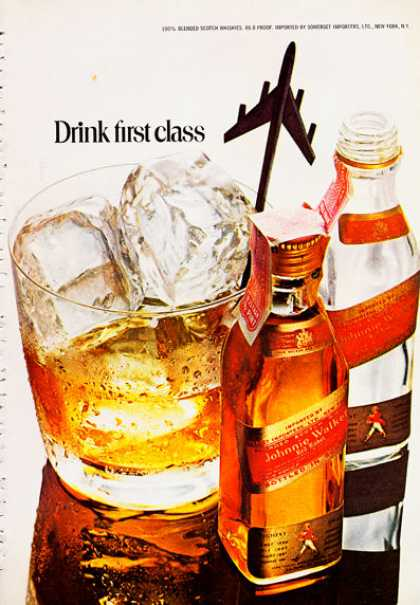 Johnnie Walker Whisky Bottle (1972)