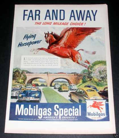 "Mobilgas Special, ""Far & Away"" Exc (1949)"