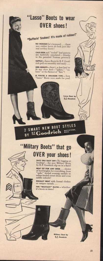 Lasso Women & Mens Boots Goodrich (1941)