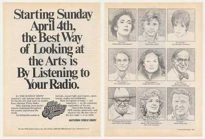 NPR National Public Radio The Sunday Show (1982)
