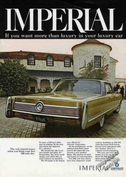 Chrysler Imperial Crown Four-door Hardtop (1967)