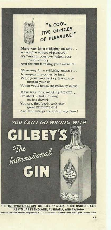 Gilbeys Internatio (1942)