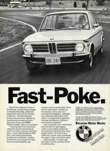 Bmw Fast-poke Photo Car (1973)