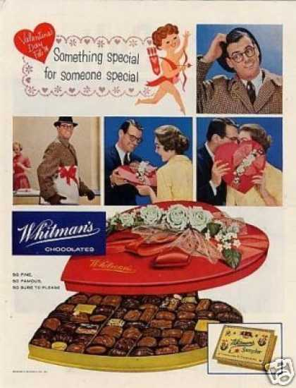 Whitman&#8217;s Chocolate Candy (1958)