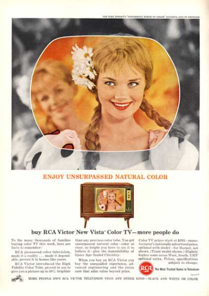 Rca Victor Color Tv Television (1963)