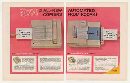 Kodak Readyprint Verifax Cavalcade Copiers (1963)