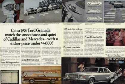 Ford Granada Collectible Comparison (1976)