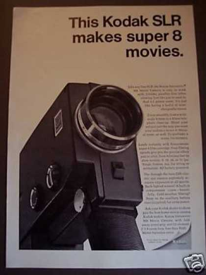 Kodak Slr Super 8 Zoom Movie Camera (1967)
