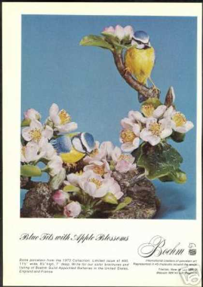Boehm Bird Porcelain Figurine Art Photo (1973)