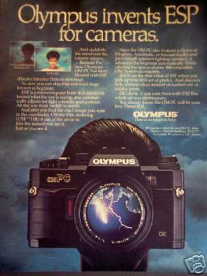 Olympus Om-pc Esp Film Camera (1985)