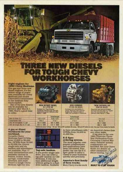 "Chevrolet Trucks for Farm Work ""New Diesels"" (1980)"