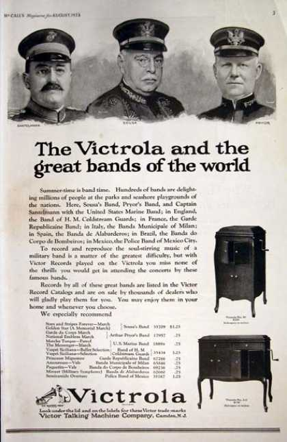 Victrola Talking Machines (1923)