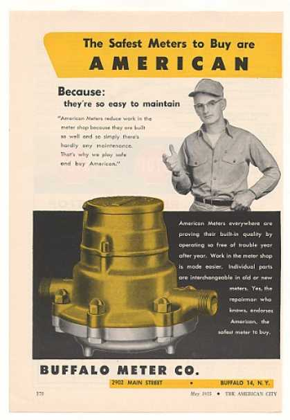 Buffalo American Meter Safest Meters (1955)