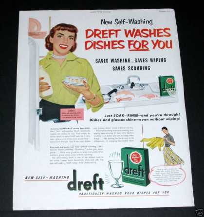 Dreft, Washes Dishes for You (1950)
