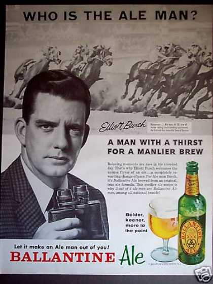 Ale Man Elliott Burch Photo Ballantine (1962)