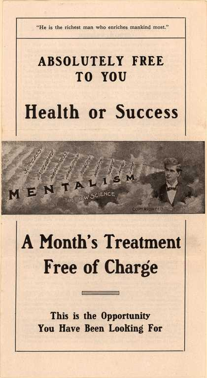"American Institute of Mentalism's ""The Law of Mentalism"" – Absolutely Free to You ... Health of Success"