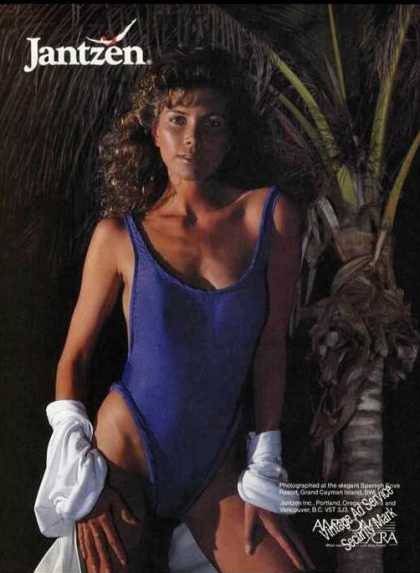 Jantzen Swimsuit Sexy Lady Spanish Cove (1985)
