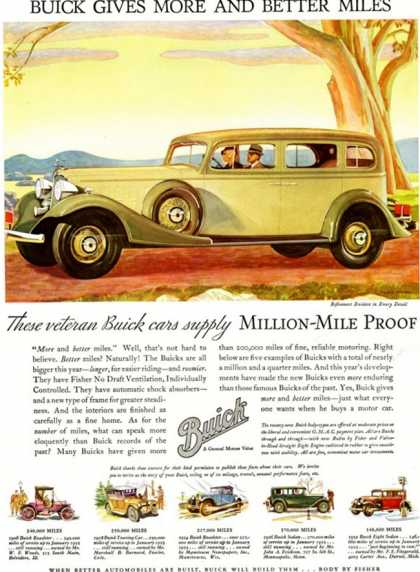 Buick Division of General Motors, USA (1930)