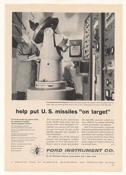 Ford Instrument Gyro Put US Missiles on Target (1958)