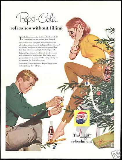 Pepsi Cola Refreshes Christmas Tree (1956)