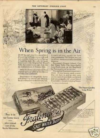 Fralinger's Salt Water Taffy (1925)